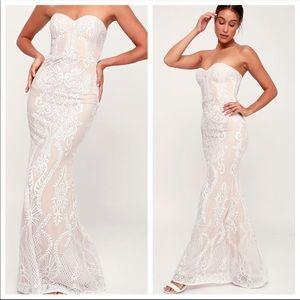 Lulu's You Belong With  Me Wedding Dress